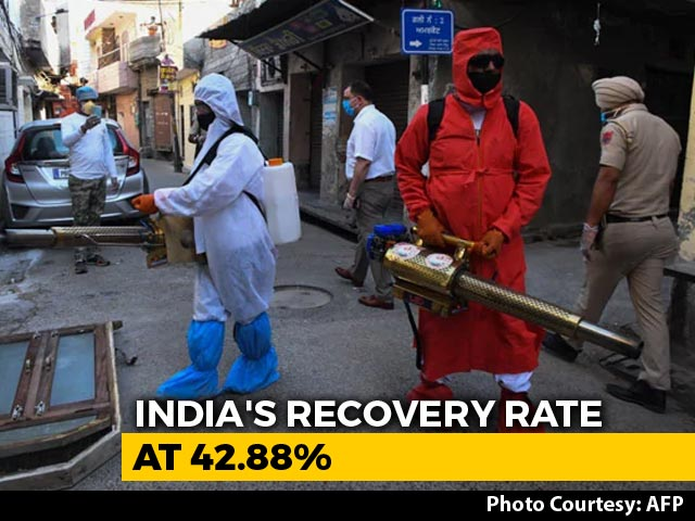 Video : 7,466 Coronavirus Cases In India In 24 Hours, Biggest Jump So Far