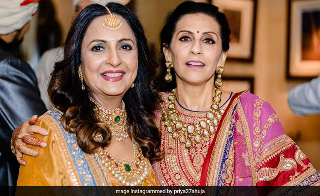 Sonam Kapoor's Mother-In-Law Priya Ahuja Shares Adorable Greetings For Anil And Sunita Kapoor On Their Anniversary