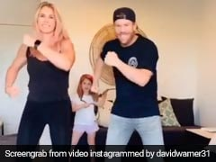 David Warner And His Wife Dance To Prabhu Deva's Hit, Asks Fans If They Were Better Than Shilpa Shetty