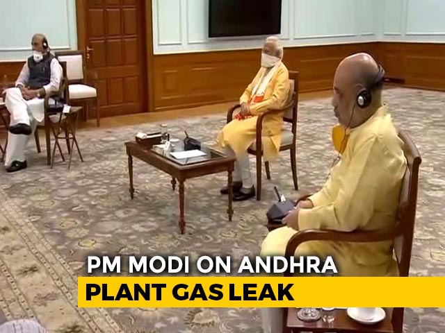"Video : ""Pray For Everyone's Safety"": PM On Gas Leak In Visakhapatnam Plant"