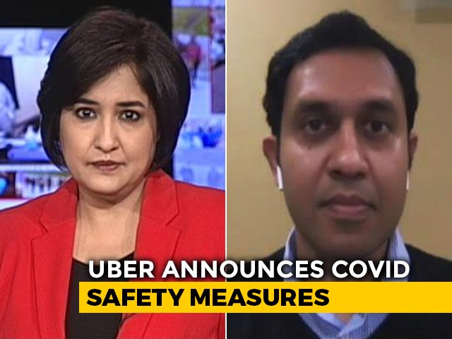 Video: Uber Outlines New COVID-19 Safety Measures For Drivers, Riders