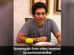 "Sachin Tendulkar Asks Yuvraj Singh ""Paranthe Kithe Hai?"" In Reply To 'Keep it Up' Challenge"