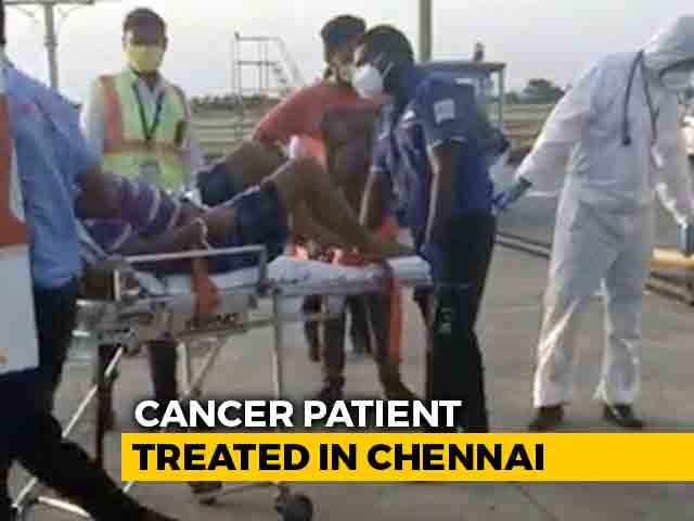 Video : 30-Hour Air Ambulance To Bring Home Cancer Patient From South Africa