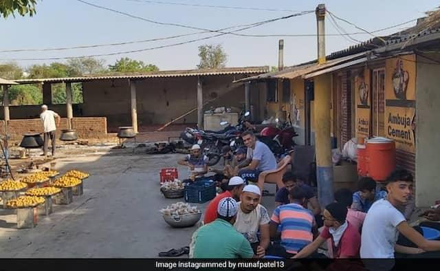 Munaf Patel Making Laddu for Eid pics goes viral