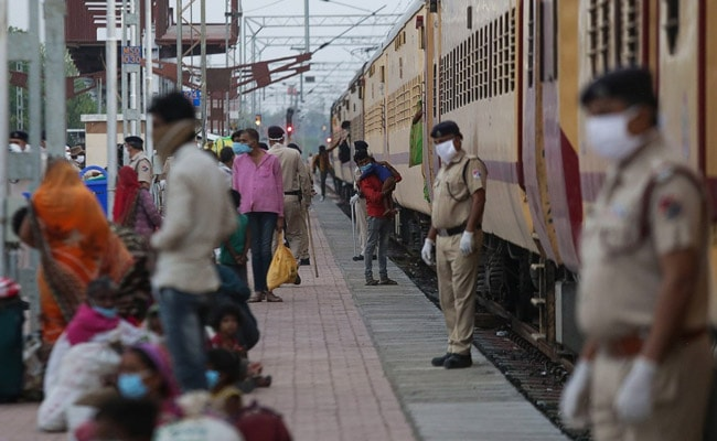 Trains Resume On Tuesday, Face Shields For Passengers