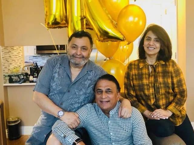 ..When Sunil Gavaskar protested with Rishi Kapoor in London for this cause, Sunny reveals