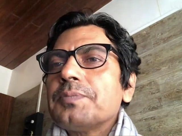 Video : Nawazuddin Siddiqui's Tribute To Irrfan Khan & Rishi Kapoor