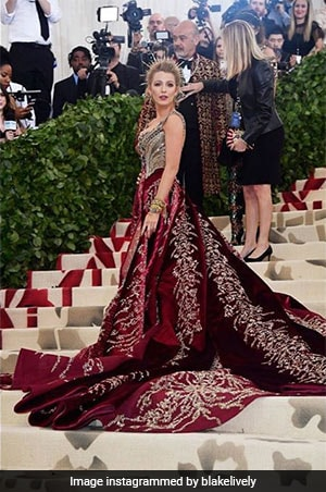 This Celeb Has Been Matching Her Met Gala Outfits With The Carpet