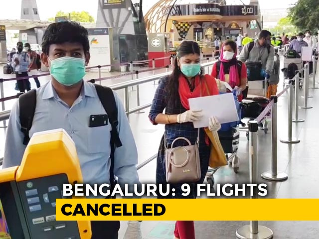 Video : Confusion Over Web Check-In At Bengaluru Airport