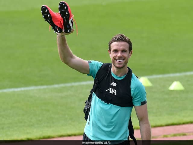 Liverpool Captain Jordan Henderson Satisfied With Safety Measures In Place For Training
