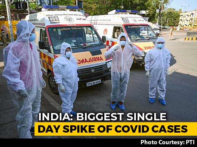 Video : 6,654 Coronavirus Cases In 24 Hours, Biggest Single-Day Spike In India
