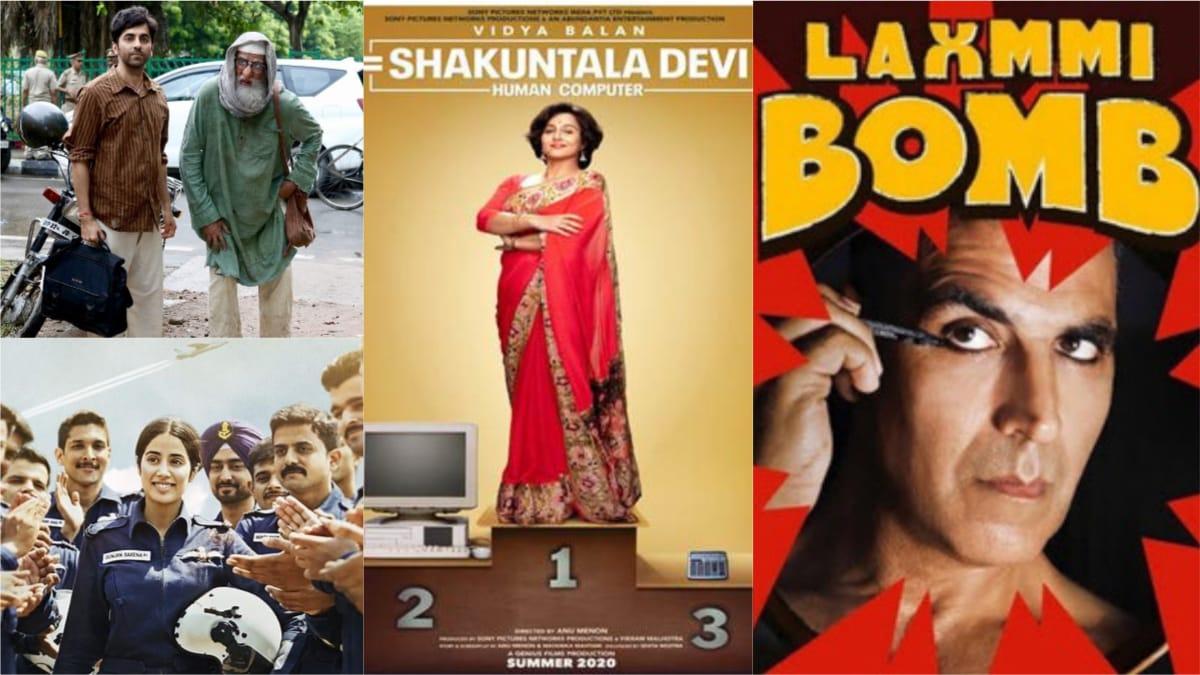 Gulabo Sitabo, Laxmmi Bomb, Shakuntala Devi: ओटीटी प्लेटफॉर्म पर रिलीज होने वाली फिल्में