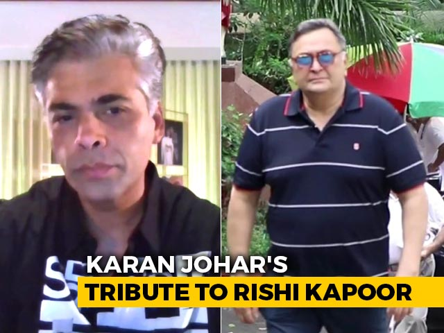 Karan Johar's Emotional Tribute To Rishi Kapoor