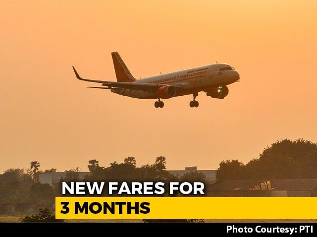 Video : Minimum And Maximum Air Fares To Be Fixed By Government For Next 3 Months