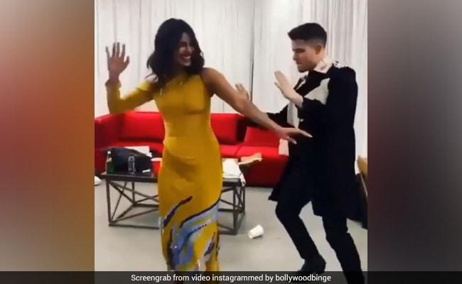 Throwback To The Time When Priyanka And Nick Danced To 'Hauli Hauli'
