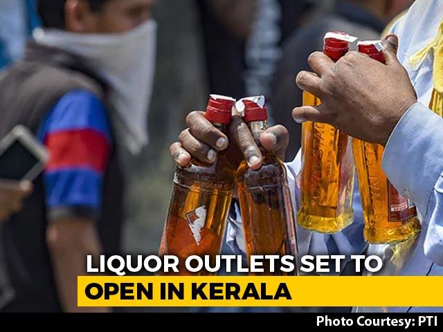Video : Kerala To Open Liquor Outlets Tomorrow, Booking Through App
