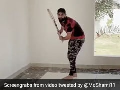 "Watch: Mohammed Shami's ""One Drop One Hand"" Video Will Take You Down Memory Lane"