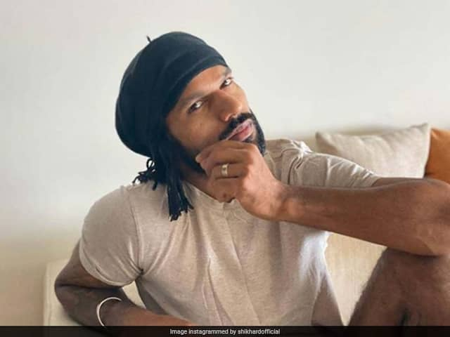 "Shikhar Dhawan Shares ""Quarantine Look"", Gets A Nickname From Harbhajan Singh"