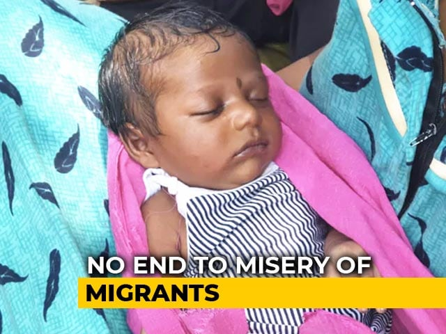 Video : Refused A Car, Mother Carries 17-Day-Old Baby, Walks Home Amid Lockdown