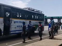 For Migrants On Main Highway To UP, Rajasthan Provides A Lift