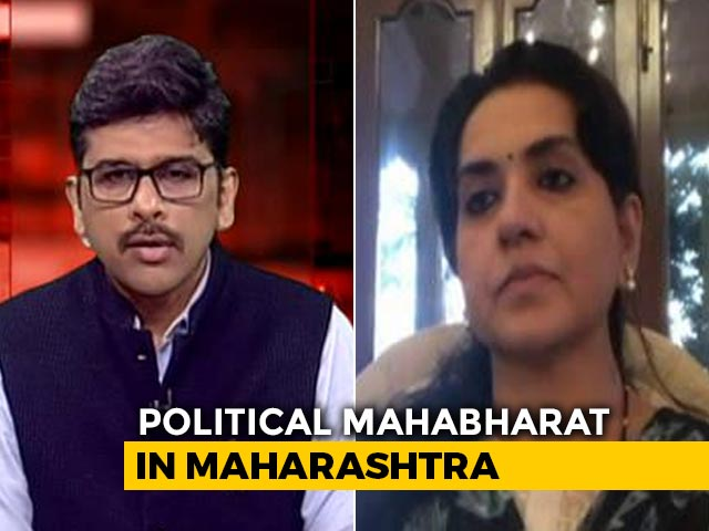 Video : 'BJP Not Politicking Amid Coronavirus Pandemic': Shaina NC Tells NDTV