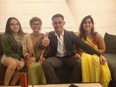 Inside Aamir Khan's Movie Night With Kiran Rao And Ira Khan. See Pics