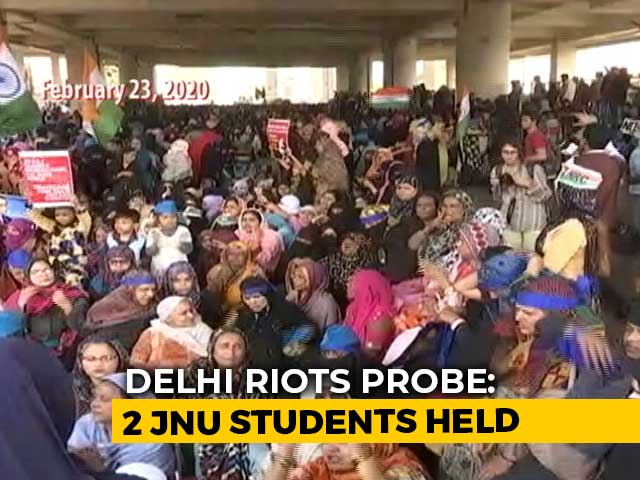 Video : 2 JNU Students Arrested Over Anti-Citizenship Law Protest In February