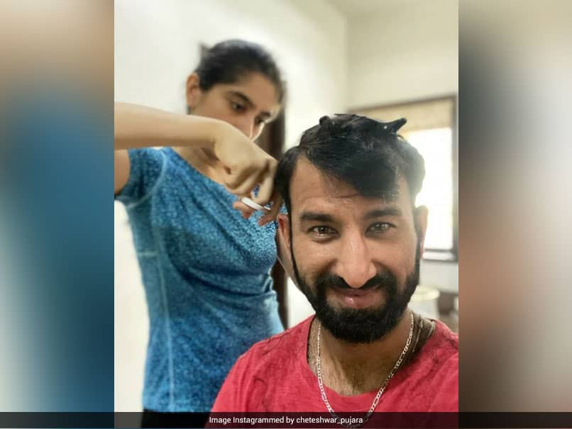 Partner When Batting On 99 Or Wife For Haircut? Cheteshwar Pujara Cant Decide Whos Easier To Trust