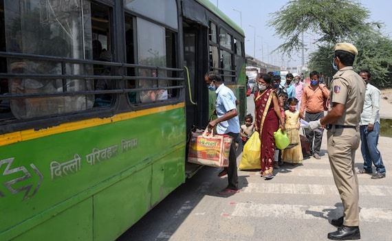 Delhi Announces Strict New Covid Curbs On Restaurants, Theatres, Travel