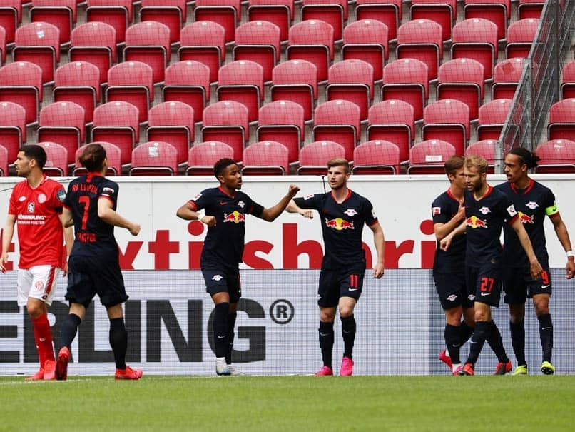 Bundesliga: Timo Werner Bags Hat-Trick As RB Leipzig Trounce Mainz