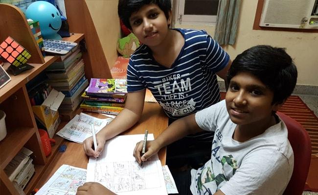 'कोरोनावायरस लॉकडाउन'  के दौरान दो भाइयों ने मिलकर लिख दी पूरी COMIC बुक, व्हाट्सएप के जरिए की जा रही बिक्री