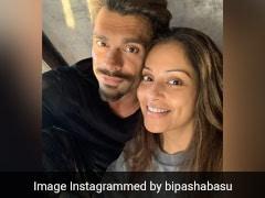 Bipasha Basu Treats Husband Karan Singh Grover With Home-Made Burger And Milkshake (See Pics Inside)