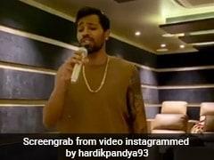 Hardik Pandya Shares Karaoke Video, Fiancee Natasa Stankovic Comes Up With Cute Reply