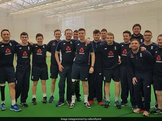 Englands Physical Disability Cricket Squad Pledges To Run A Marathon A Day For Charity