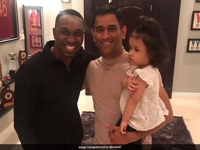 """Working On Special Song Designed For MS Dhoni"": Dwayne Bravo Tells Sunny Leone"
