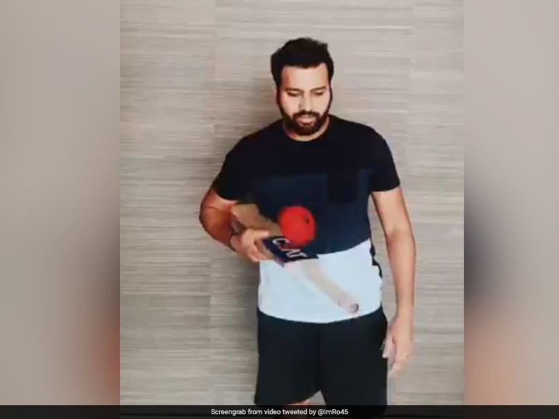 """Rohit Sharma, Anil Kumble Ace """"Keep It Up"""" Challenge With Unique Twists. Watch"""