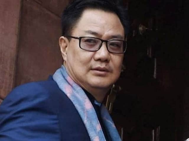 "Sports Minister Kiren Rijiju Says ""Have To Live With Sporting Events Behind Closed Doors"""