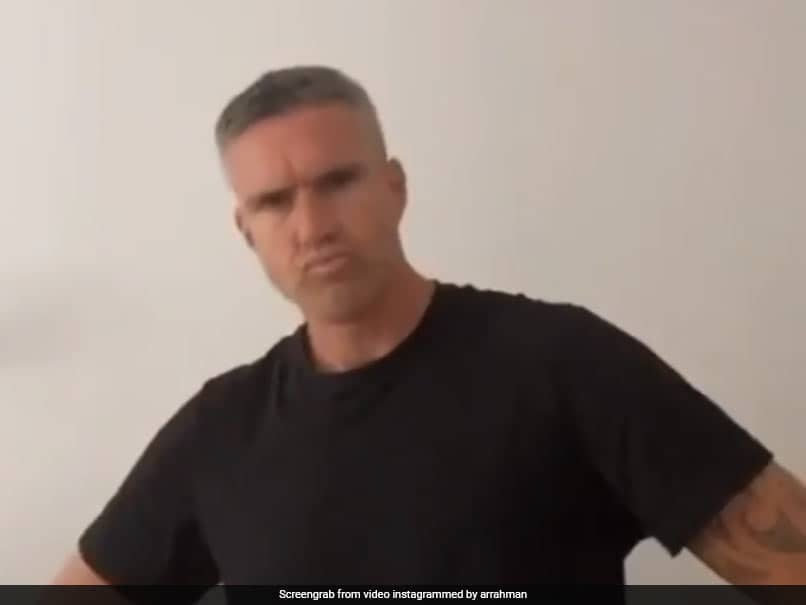 Watch: Kevin Pietersen Grooves To AR Rahmans Tamil Song In TikTok Video