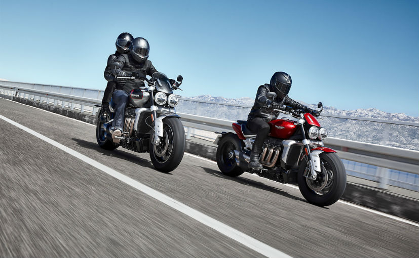 Triumph has issued a recall for 1,241 units of the Rocket 3 in USA