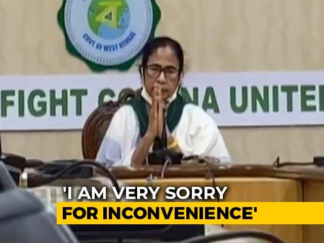 """Video : """"Cut Off My Head,"""" Says Mamata Banerjee On Protests After Cyclone Amphan"""