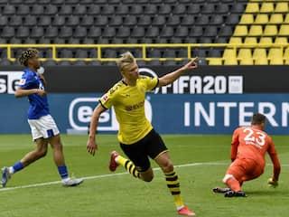 Erling Haaland Becomes 2nd-Fastest To Score 10 Bundesliga Goals