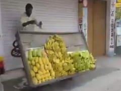 """""""Was Stressed"""": Tamil Nadu Officer Explains Toppling Fruit Cart On Camera"""