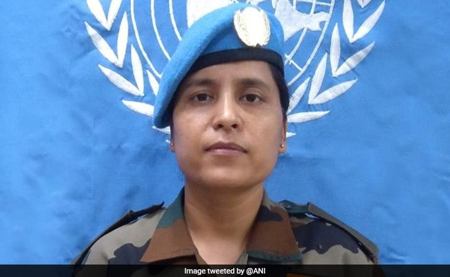 Indian Army Major Honoured With UN Award For Peacekeeping