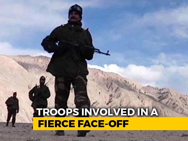 Video : India, China Troops Clash In Sikkim, Pull Back After Dialogue