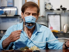 This New Mask Allows Diners To Eat Without Taking It Off