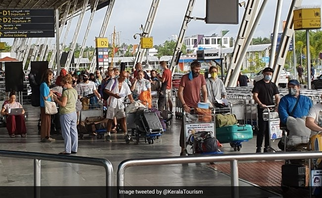 104 Russian Tourists Stranded In India Fly Home From Thiruvananthapuram