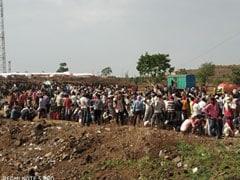 मध्यप्रदेश-महाराष्ट्र सीमा पर प्रवासी कामगारों का विरोध-प्रदर्शन, खाने को लेकर किया पथराव