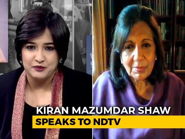 Video : 'Need Bold Regulatory Reforms': Kiran Mazumdar Shaw