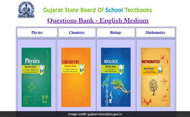 Gujarat Board Releases Question Bank For JEE, NEET, GUJCET