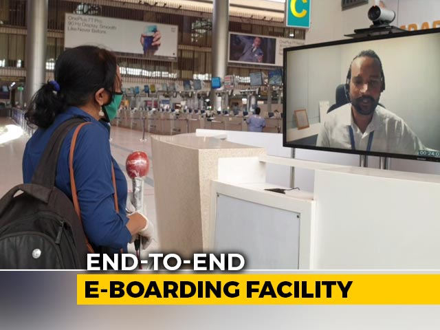 Video : Inside Hyderabad Airport: Preview To Flights Starting Monday
